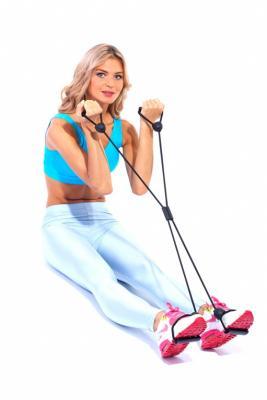 Эспандеры для фитнеса «ИКС» SF 0046