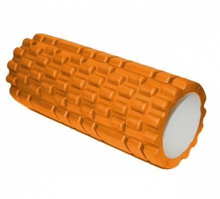Валик для фитнеса «ТУБА» оранжевый SF 0065 валик bradex для фитнеса массажный зеленый sf 0247