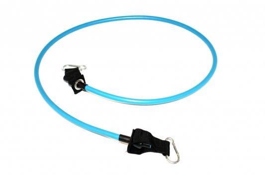 Эспандер трубчатый с карабинами, нагрузка до 11 кг, синий SF 0229 эспандер лента нагрузка до 7 кг sf 0261