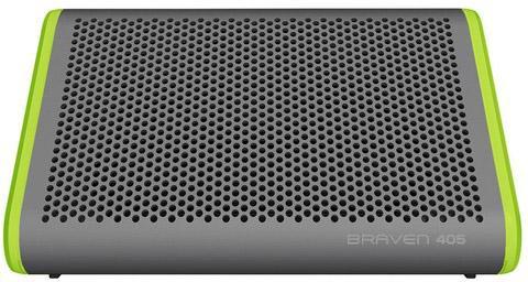 Портативная акустика Braven 405 серебристый зеленый B405SG портативная акустика edifier mp100 зеленый