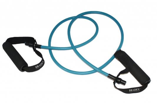 Эспандер трубчатый с ручками, нагрузка до 9 кг, синий SF 0233 цены