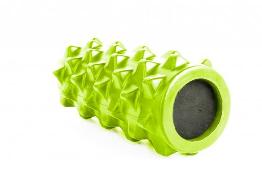 Валик для фитнеса массажный, зеленый SF 0247 валик bradex для фитнеса массажный зеленый sf 0247