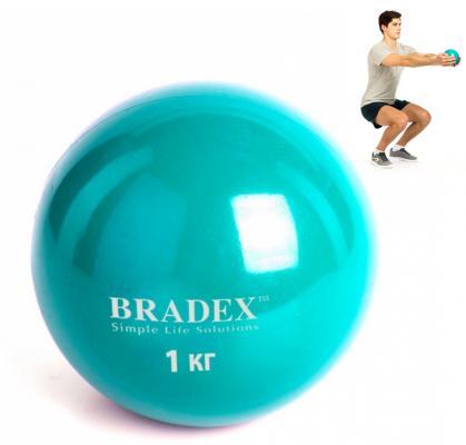 Медбол, 1 кг SF 0256 медбол bradex 3 кг sf 0258