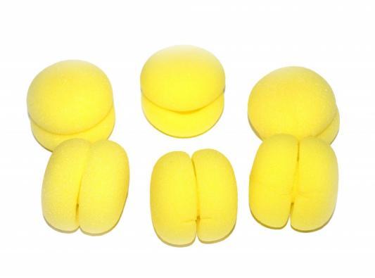 Бигуди «ШАРЛИЗ» желтые KZ 0221 бигуди bradex шарлиз
