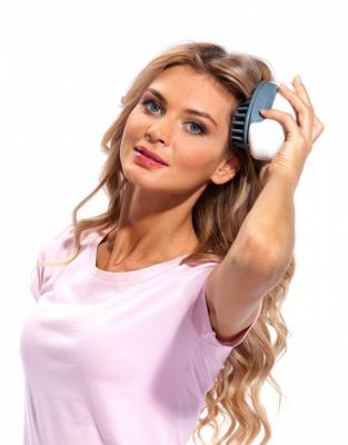 Массажер для мытья головы «АКТИНИЯ» KZ 0305 биокамин bradex прометей td 0305