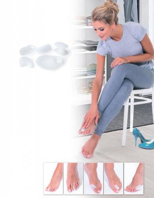 купить Набор силиконовых протекторов - защита ног от мозолей KZ 0364 по цене 175 рублей
