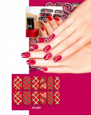 Арт-пленка для дизайна ногтей «ШОТЛАНДКА» KZ 0381 арт пленка для дизайна ногтей шотландка kz 0381