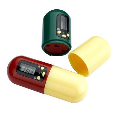 Контейнер для таблеток с таймером «НАПОМИНАТЕЛЬ» KZ 0105 таблетница bradex с таймером