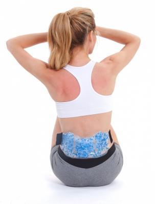 Компресс для спины гелевый массажеры механические тимбэ продакшен массажеры для спины