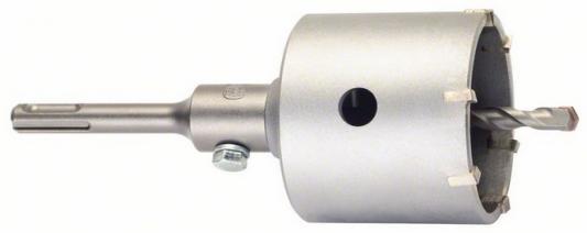Коронка п/б BOSCH SDS+ 68 мм, твердосплавные зубья (2.608.550.064) 68мм +хвостовик, центр.сверло коронка алмазная bosch 68мм