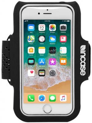 Спортивный чехол Incase Active Armband для iPhone 6 Plus iPhone 6S Plus iPhone 7 Plus iPhone 8 Plus чёрный INOM180392-BLK uag plyo защитный чехол для iphone 8 7 6s plus grey