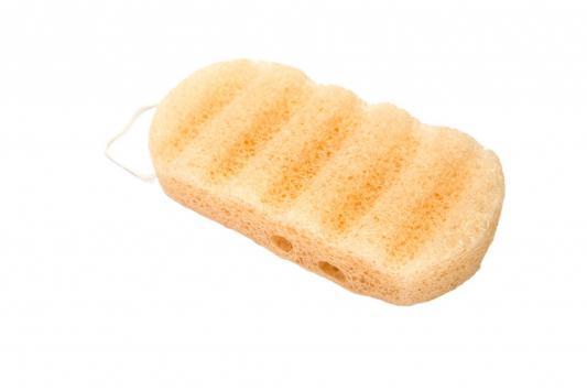 Губка для душа из клубня конняку «СОКРОВИЩЕ АЗИИ» KZ 0428 губка для душа bradex konjac sponge with lavender сокровище азии