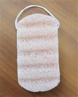 Губка для душа из клубня конняку «СОКРОВИЩЕ АЗИИ» с розовой глиной KZ 0431 губка для душа bradex konjac sponge with lavender сокровище азии