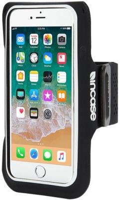 Спортивный чехол Incase Active Armband для iPhone 6 iPhone 6S iPhone 7 iPhone 8 чёрный INOM170391-BLK спортивный чехол incase active armband для iphone 6 plus iphone 6s plus iphone 7 plus iphone 8 plus чёрный inom180392 blk