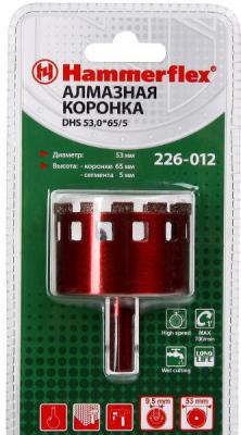 Алм. трубчатая коронка Hammer Flex 226-012 DHS 53,0*65/5 A3, алмаз 60Р, керамогранит 10pcs lot free shipping qsd e c8004 07 touch touch screen