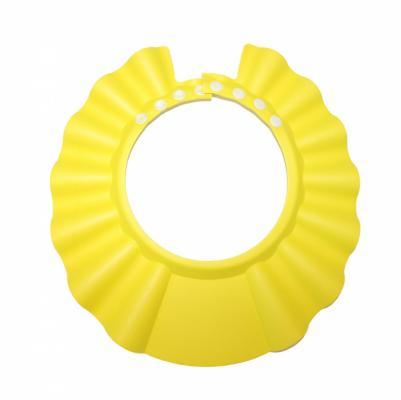 Шапочка - козырёк для мытья головы детская «КУПАЕМСЯ БЕЗ СЛЁЗ» желтый DE 0143 шапочка козырёк для мытья головы детская купаемся без слёз розовый de 0123