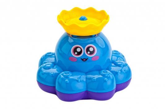 Игрушка детская для ванны «ФОНТАН-ОСЬМИНОЖКА» голубой детская игрушка sile schleich ovp schleich 70022