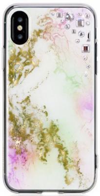 Накладка Bling My Thing Unicorn: Onyx для iPhone X разноцветный ipx-ed-pt-cry butterfly bling diamond case