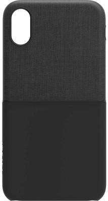 Накладка Incase Textured Snap Case для iPhone X чёрный INPH190379-BLK snap case