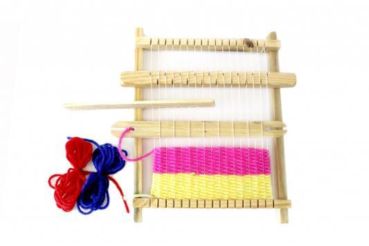 Набор для творчества «ТКАЦКИЙ СТАНОК» DE 0234 наборы для творчества alex ткацкий станок