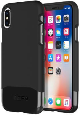 Фото Накладка Incipio Edge Chrome для iPhone X чёрный IPH-1647-BLK чехол incipio feather для iphone 7 чёрный iph 1467 blk