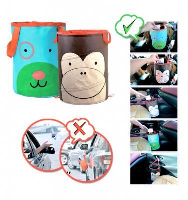 Корзина автомобильная для хранения «ПЕСИК» DE 0243 корзина автомобильная для хранения обезьянка de 0242