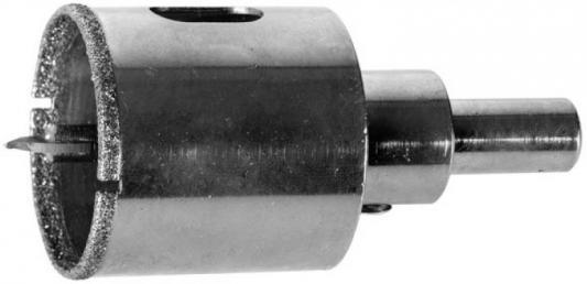 Коронка алмазная ЗУБР 29850-45 ЭКСПЕРТ в сборе по кафелю керамике P60 45мм