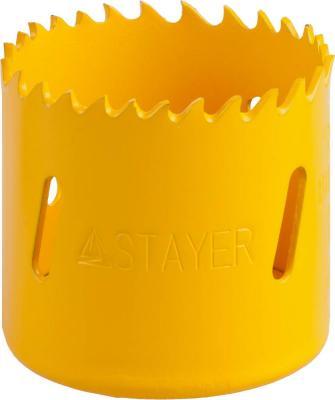 Коронка биметаллическая STAYER PROFESSIONAL 29547-048 d48мм коронка биметаллическая stayer professional 29547 048