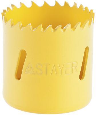 Коронка биметаллическая STAYER PROFESSIONAL 29547-054 d54мм коронка биметаллическая stayer professional 29547 102