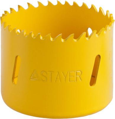 Коронка биметаллическая STAYER PROFESSIONAL 29547-057 d57мм коронка биметаллическая stayer professional 29547 048