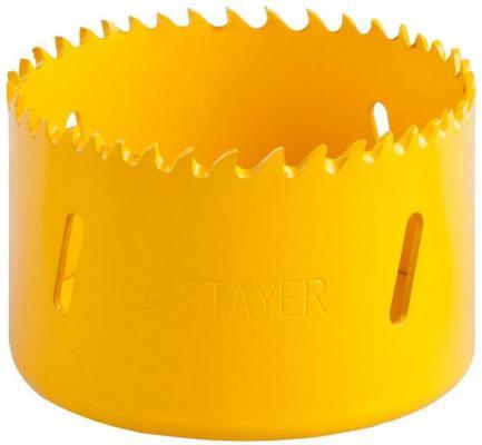 Коронка биметаллическая STAYER PROFESSIONAL 29547-068 d68мм коронка биметаллическая stayer professional 29547 102