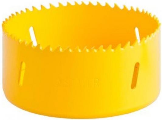 Коронка биметаллическая STAYER PROFESSIONAL 29547-095 d95мм коронка биметаллическая stayer professional 29547 102