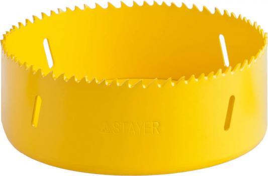 Коронка биметаллическая STAYER PROFESSIONAL 29547-121 d121мм коронка биметаллическая stayer professional 29547 048