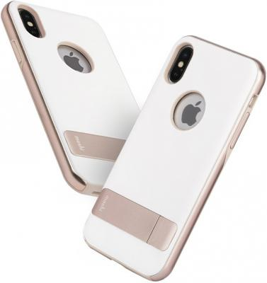 Накладка Moshi Kameleon для iPhone X белый 99MO101032 аксессуар чехол moshi kameleon для apple iphone x midnight blue 99mo101512