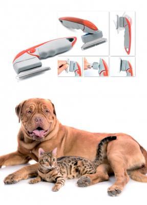 Расческа для гладкошерстных животных TD 0452 шампуни для животных gamma шампунь для гладкошерстных кошек 250мл