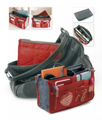 Органайзер для сумки «СУМКА В СУМКЕ» цвет красный TD 0342 органайзер bradex все под рукой td 0102