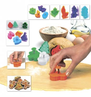 Набор форм для печенья и мастики «НОВОГОДНЯЯ СКАЗКА» TK 0219 набор форм для мастики mayer