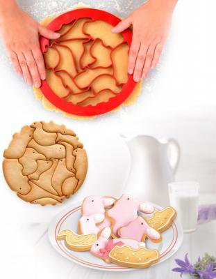 все цены на Форма для вырезания печенья «ЗООПАРК» TK 0214