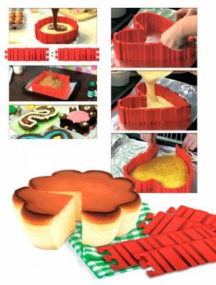 Форма-трансформер для выпечки «ЗАТЕЯ» TK 0232 форма для выпечки bradex tk 0184