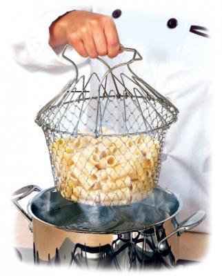 Решетка для приготовления пищи «Шеф Баскет» TK 0143 коврик силиконовый для приготовления пищи