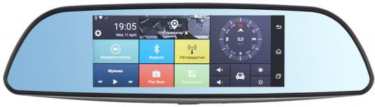 Видеорегистратор Dunobil Spiegel Smart Duo 3G 6.86 1920x1080 150° microSD microSDXC датчик удара Wi-Fi 3G