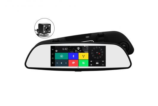Видеорегистратор Axper Universal 7 1920x1080 140° microSD microSDHC датчик удара Wi-Fi 3G автомобильный видеорегистратор axper universal