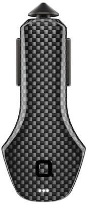 Автомобильное зарядное устройство Nonda ZUCCBKPCF 2.4А черный автомобильное зарядное устройство nonda zus connected car app suite