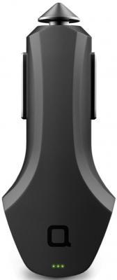 Автомобильное зарядное устройство Nonda ZU44BKRN 2.4А черный автомобильное зарядное устройство nonda zus connected car app suite