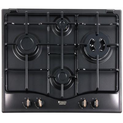 Варочная панель газовая Ariston 7HPC 640 T(AN) R/HA черный варочная панель газовая ariston pk 640 x серебристый