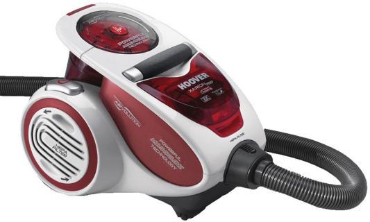 Пылесос Hoover TXP1510 019 сухая уборка красный серый пылесос lg vk76a06ndr сухая уборка красный серый