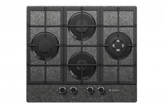 Варочная панель газовая Gefest ПВГ 2231-01 К43 черный цена
