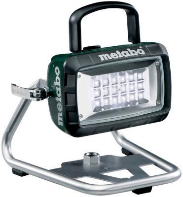Фонарь Metabo BSA14.4-18LED чёрный зеленый аккумуляторный строительный фонарь metabo bsa 14 4 18 led 602111850