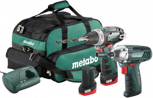 Набор аккумуляторных инструментов Metabo 685055000