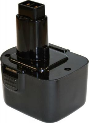 Аккумулятор ПРАКТИКА 038-807 12.0В 2.0Ач NiCd для DeWALT аккумулятор практика 779 318 14 4в 2 0ач nimh для dewalt b